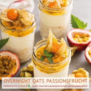 Overnight Oats mit Passionsfrucht