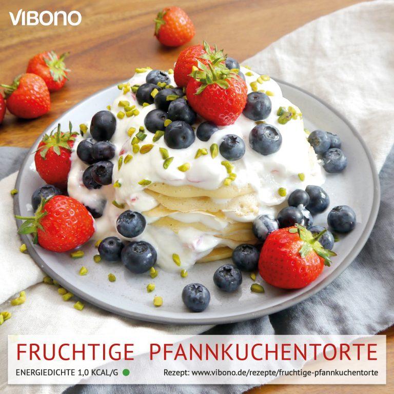 Fruchtige Pfannkuchentorte