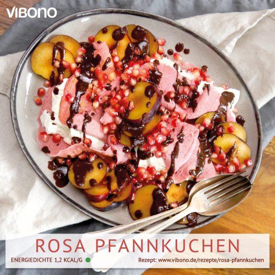Rosa Pfannkuchen