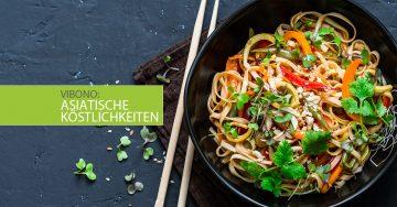 Asiatische Köstlichkeiten