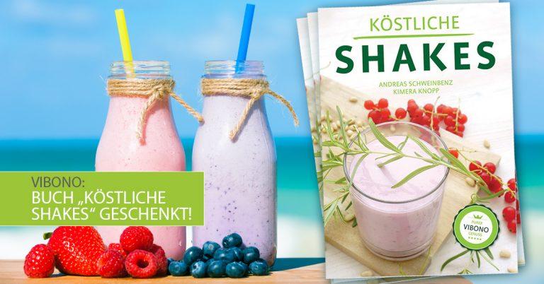 """Buch """"Köstliche Shakes"""" geschenkt!"""