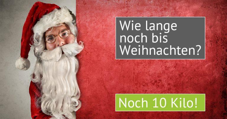 Challenge: 10 Kilo bis Weihnachten