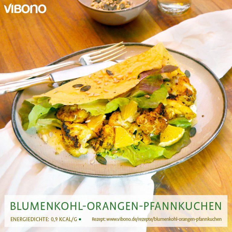 Blumenkohl-Orangen-Pfannkuchen