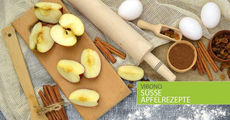 Süße Apfelrezepte