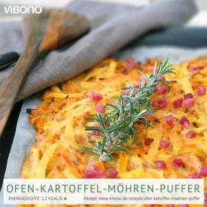 Ofen-Kartoffel-Möhren-Puffer