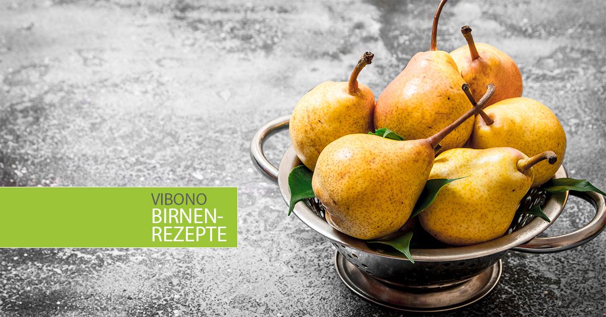 Rezepte mit Birnen