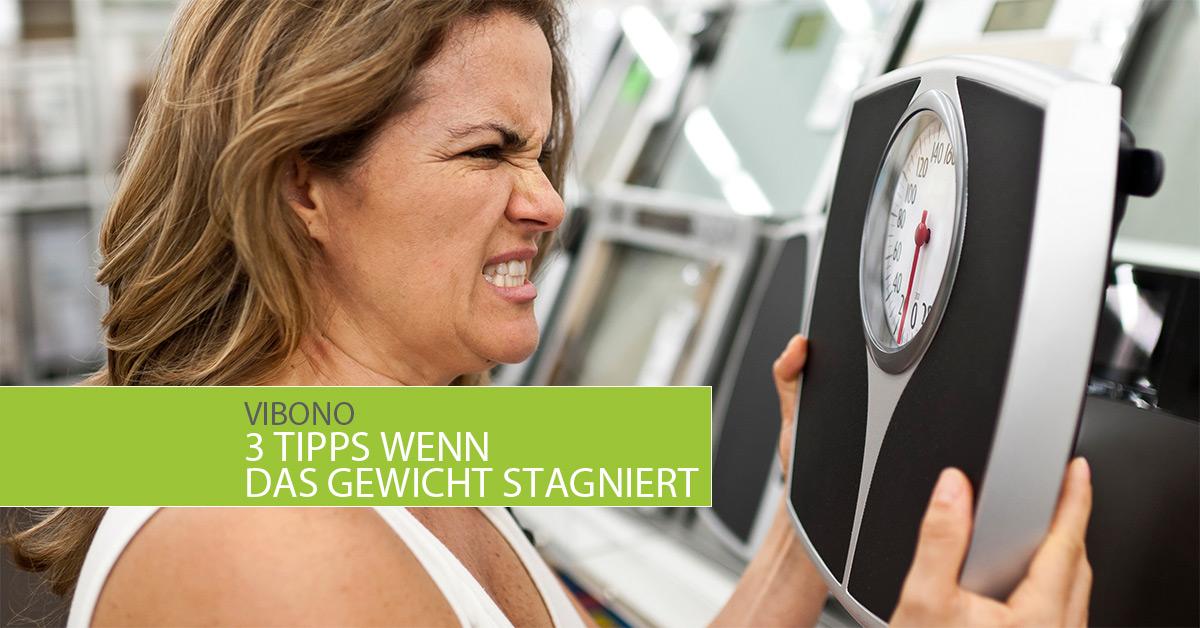 3 Tipps wenn das Gewicht stagniert