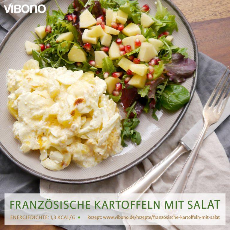Französiche Kartoffeln mit Salat