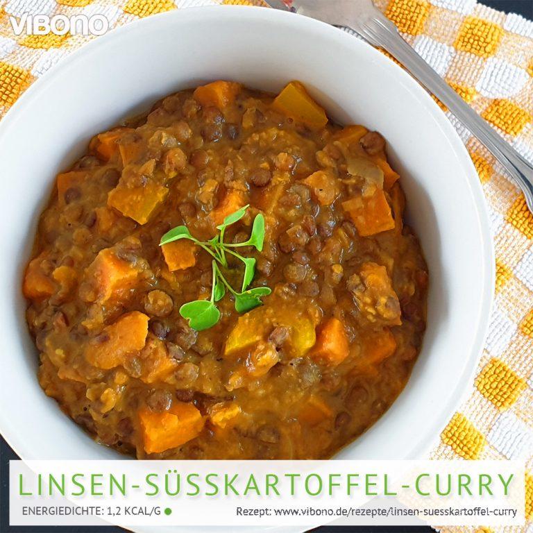 Linsen-Süßkartoffel-Curry