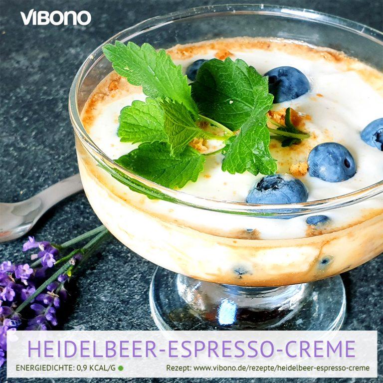 Heidelbeer-Espresso-Creme
