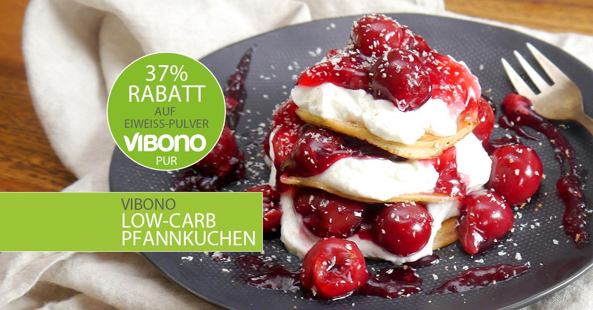 Den Turbo zünden mit Low-Carb-Pfannkuchen