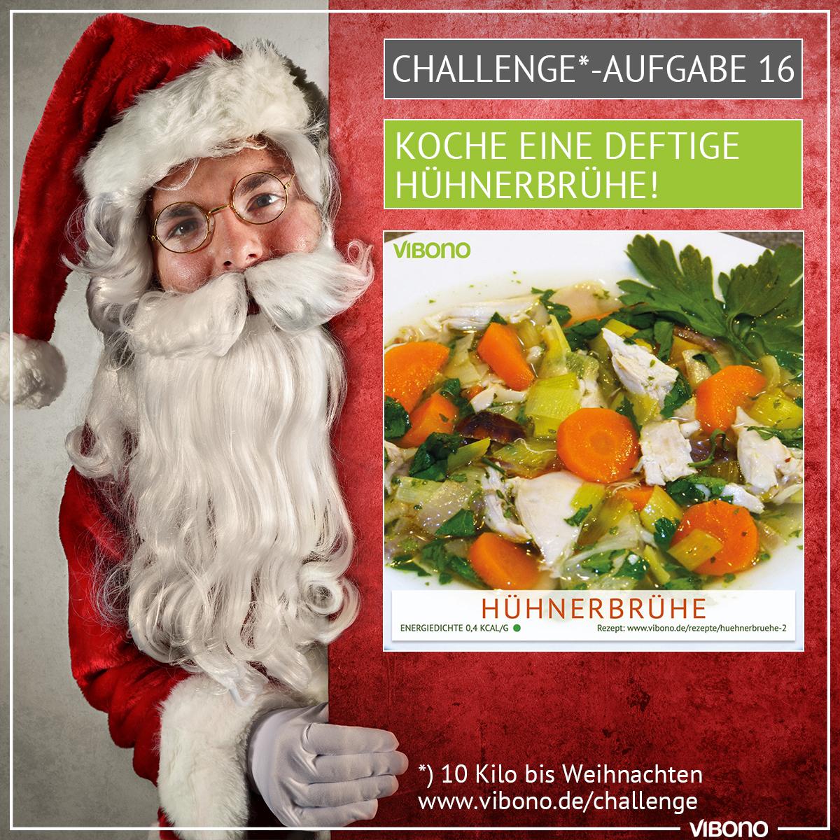 Challenge-Aufgabe 16: Hühnerbrühe kochen