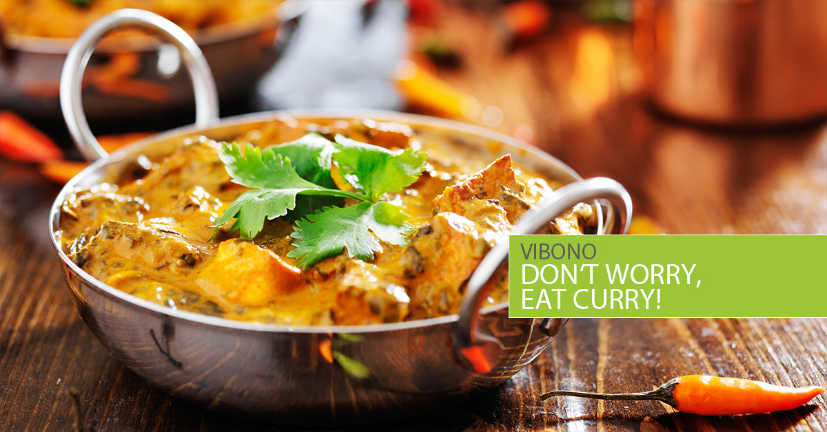 Don't worry, eat Curry