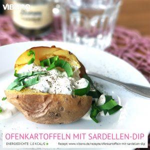 Ofenkartoffeln mit Sardellen-Dip