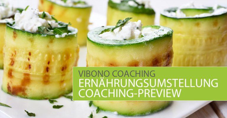 Coaching: Ernährungsumstellung (Preview)