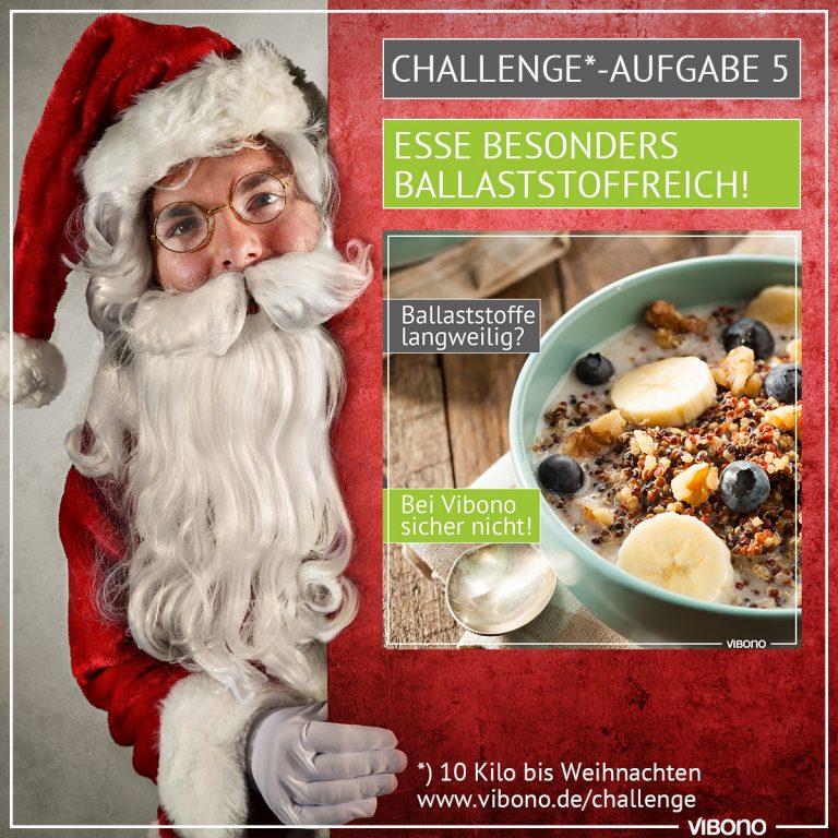 Challenge-Aufgabe 5: Ballaststoffreich essen