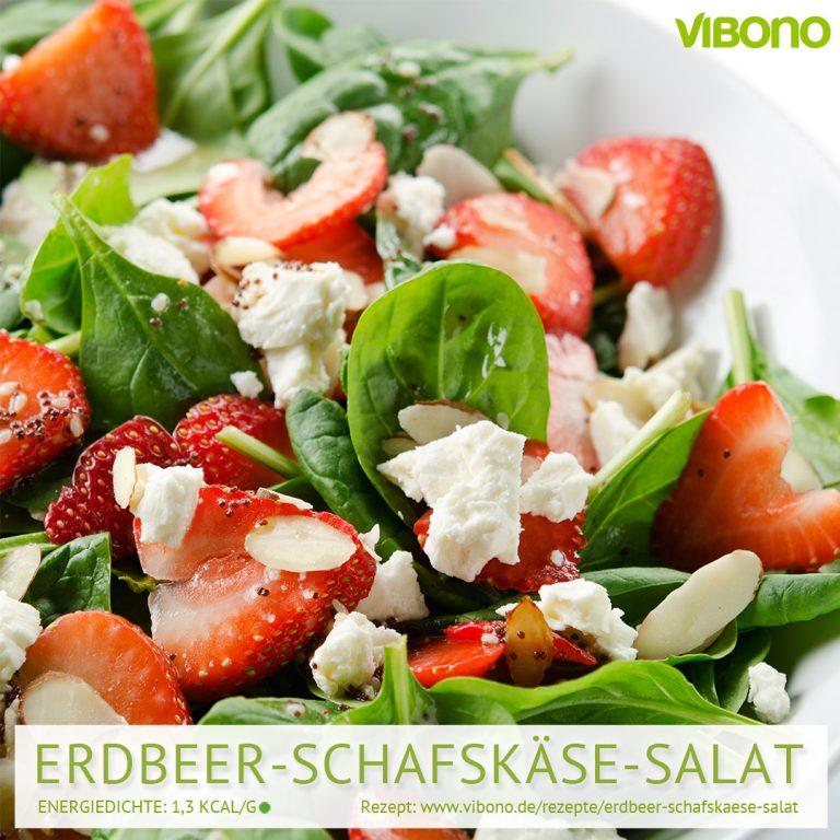 Erdbeer-Schafskäse-Salat