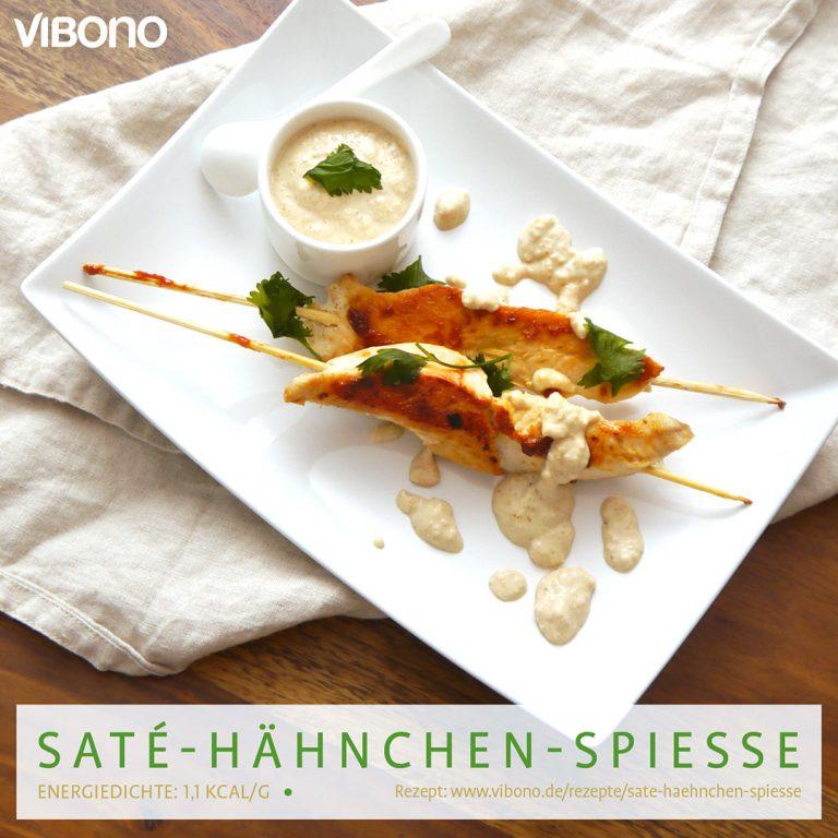 Saté-Hähnchen-Spieße