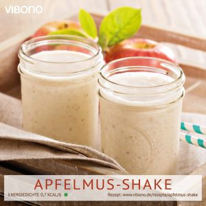 Apfelmus-Shake
