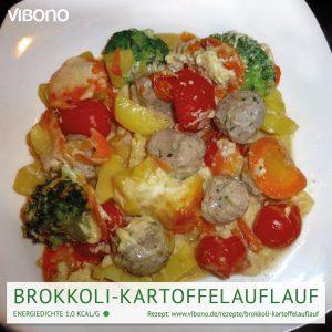 Brokkoli-Kartoffelauflauf