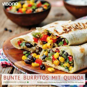 Bunte Burritos mit Quinoa