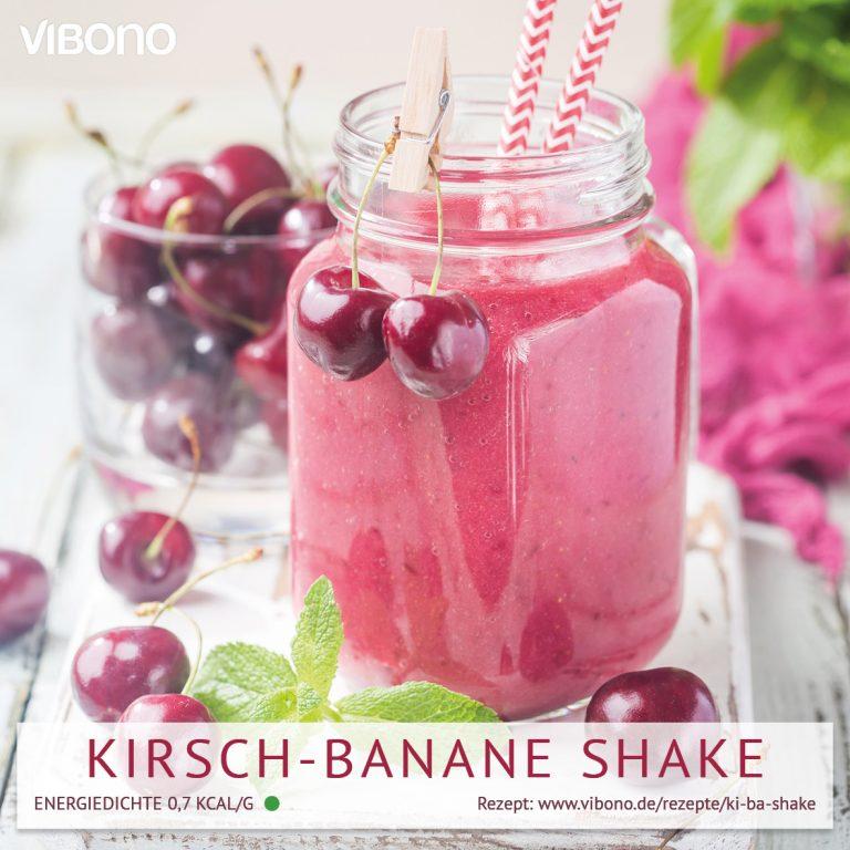 Kirsch-Banane Shake