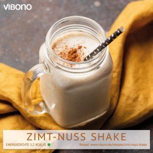 Zimt-Nuss Shake